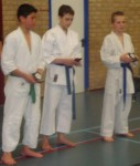 Kumite boys (12-13 years) medals