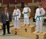 Kata boys (10-13 years) medals