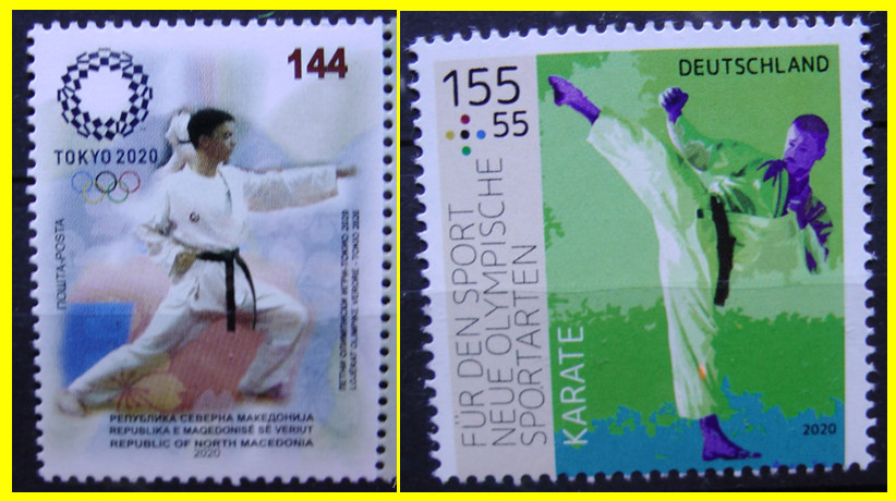 Who is interested in stamps from the world of Budo.